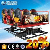 So enthralling 6dof motion platform 5d motion theater cinema seat