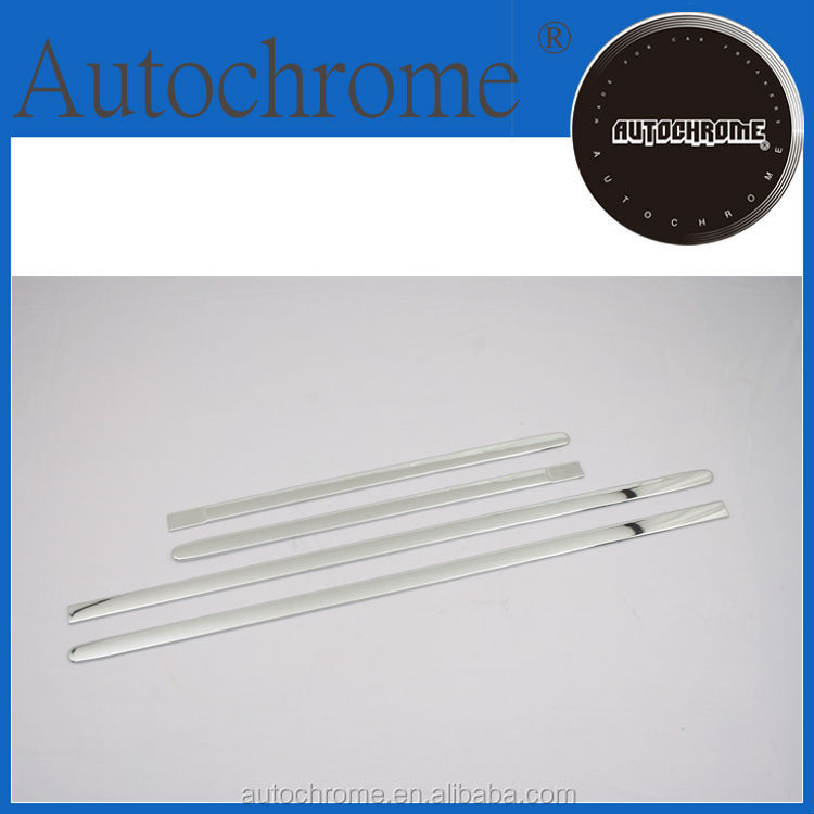 Newest 2015 hot products high quality car parts chrome side door molding trim set for BMW X3 F25