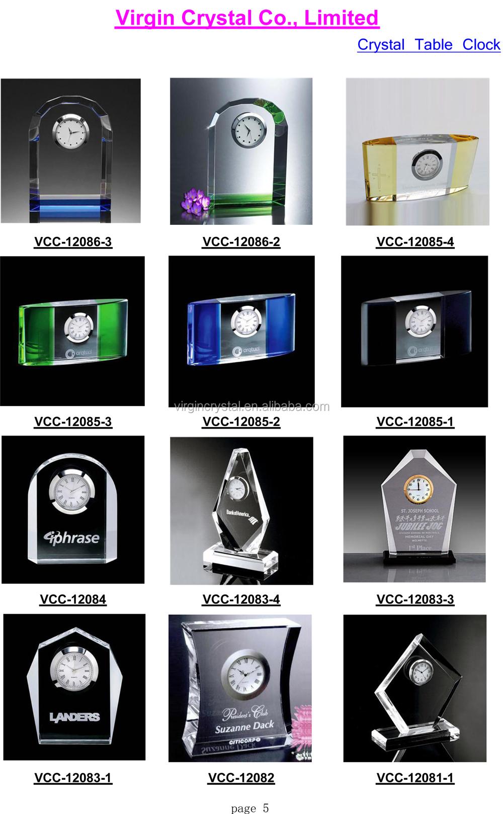2016 Crystal Table Clock and Mechanical clock Catalog-5.jpg