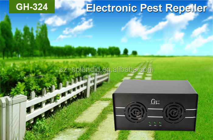 GH-324 human ultrasonic mole catcher with timer function