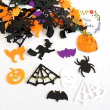 SINNO Beistle Scary Cats Table Confetti For Halloween Decoration, Foil Pumpkin/Bat Mix, 1oz
