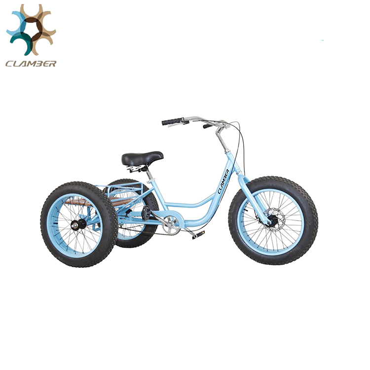 Fat tyre tricycle/three wheel beach bike/cargo trike GW7022