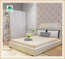 elegant white pvc coated furniture bedroom wardrobe