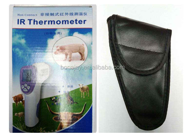 Instant read veterinary infrared thermometer