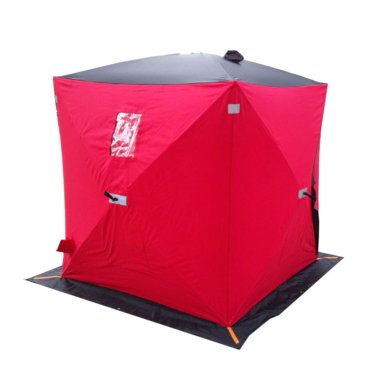Winter Pop Up Shelter : Pop up ice fishing shelter for winter and hunting