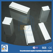 Ball mill alumina wear resistant ceramic lining tile/lining brick