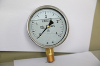 lpg air pressure gauge with oil liquid filled manometer