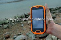 android phone 4.3' Quad Core 3G wifi GPS IP68 Rugged Android ip67 with pear phone