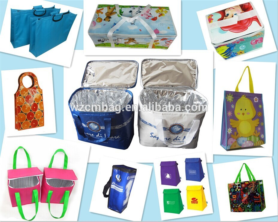 Custom Promotional Cheap Picnic Foldable Tyvek Lunch Bag