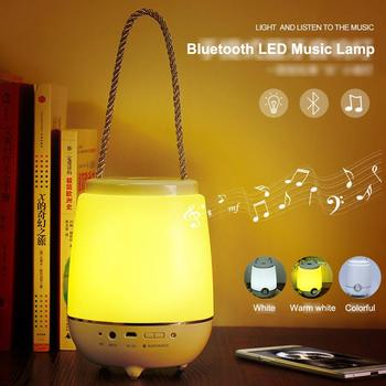 2016 NEW Portable Bluetooth LED Music Lamp for Night Bar