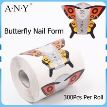 ANY Paper Full Cover Butterfly Nail Form In Nail Form New 2015