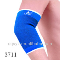 Blue color polyester knee elbow protector