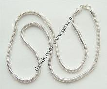 Sterling Silver European Necklace fashon jewelry