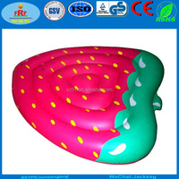 Fruit Promo PVC Inflatable Strawberry Float