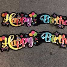 PARTY BANNER HAPPY BIRTHDAY GIANT JOINTED 1.36M/Happy birthday decoration