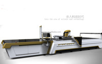 fully automatic fabric cutting machine / textile - auto cutting machine with computer control
