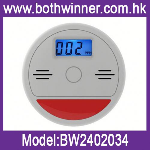 Fire detector smoke heat motion sensor ,h0td6P carbon monoxide and gas detector for sale