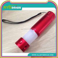 Multipurpose LED aluminum alloy flashlight ,Y082, 3 watt led flashlight
