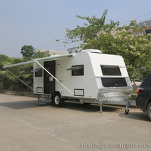 Customized Mini Moblie Fast Food Caravan with Furniture For Camping