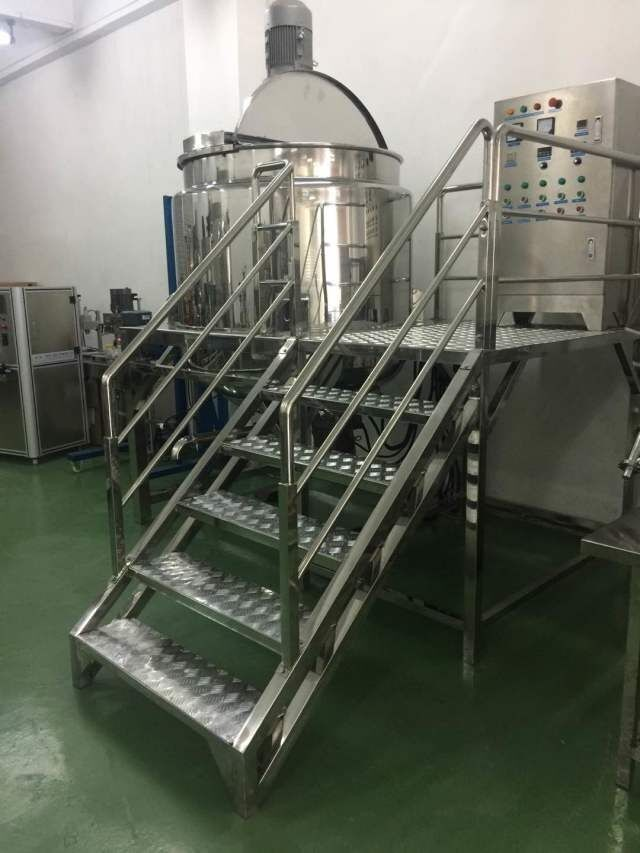 1000L Heating Homogenizer Mixer for Shampoo and oil