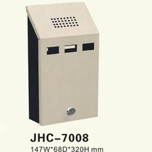 Foshan JHC-7008 stainless steel outdoor pocket ashtray