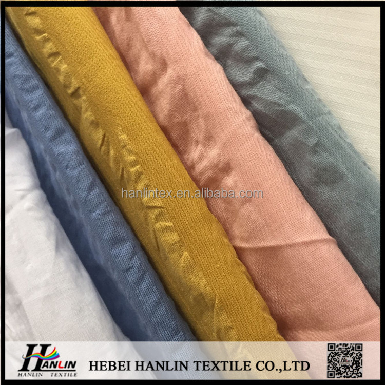 hot sale 2017 new fabric salt shrinkage bubble cotton fabric100% cotton fabric 60s*60s 90*88 for fashion garments China supplier