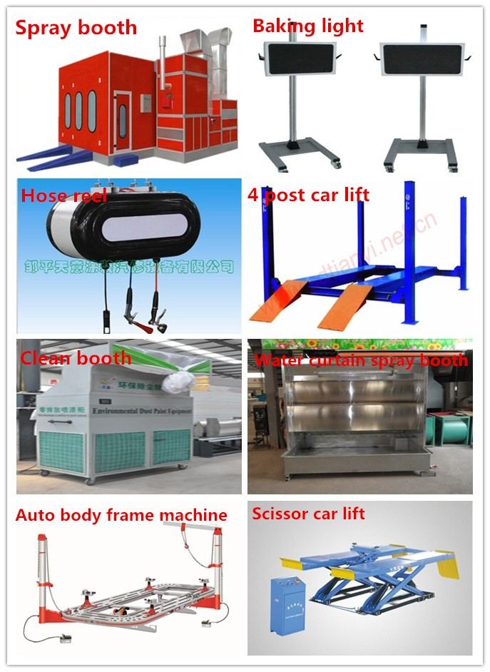 environmental nanometer baking machine for car spray booth painting