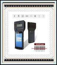 tungsten e2 palm CM550S high quality Android mobile pos printer with 1D/2D barcode reader, wifi,3G,gps ,fingerprint cm550s