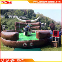 High quality inflatable Rodeo Bull, mechanical bull inflatable for sale