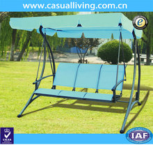 Modern Patio Furniture 3 Seat Swing For Freely