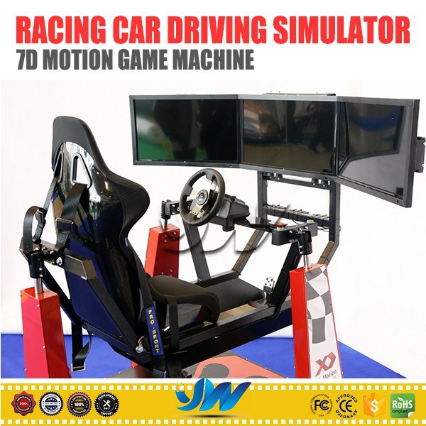 2015 new 3d 4d 7d motion game machine arcade racing car driving simulator