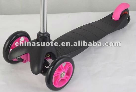 Kids Mini Scooter with 120mm and 80mm PU Wheel