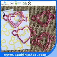 shape paper clip useful wedding gifts low MOQ