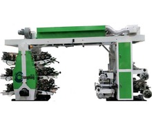 Changhong Sophisticated Technology 6 Color Plastic/LDPE/BOPP Flexo Printing Press Machine
