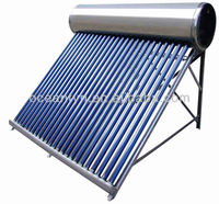 jiaxing 250L stainsteel steel ETC tube Solar Water Heater, home depot solar water heater