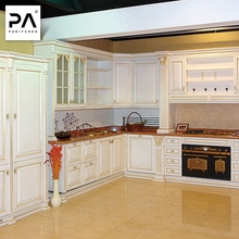 Baked Enamel Kitchen Cabinet Solid Wood Quality kitchen cabinet xiamen