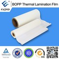 27mic gloss bopp hot laminated film