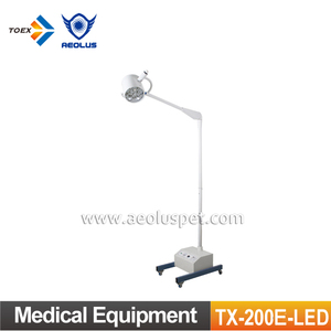 TX-200E-LED Mobile Surgical Operating Light with Battery Medical Equipment