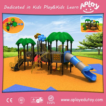 Plastic Children Toys Playground with Slide