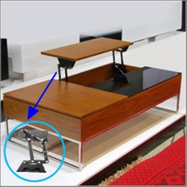 Ahorro de espacio mesa elevaci n vertical bisagra soporte - Bisagras para mesas plegables ...