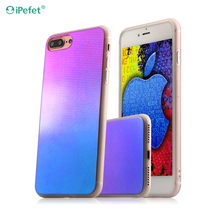 Ultra-thin IMD mobile phone case bling rubber Tpu Phone Case for iPhone 7plus customized plating tpu case