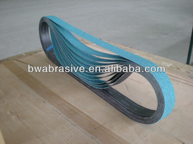 zirconia oxide abrasive emery cloth belt