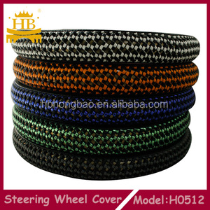 Lambskin knitted auto steering wheel cover,auto accessories