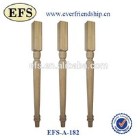 beautiful modern tapered wood chair legs(EFS-A-182)