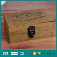 Handmade home garden natural decorative wooden box for home and garden