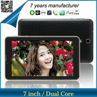 Christmas tablet pc manufacturer 7 inch android 4.4 tab dual core 3G phone call tablets support GPS tablet with sim card slot