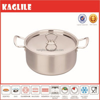 Wholesale healthy smokeless eco-friendly stainless steel sauce pot casserole