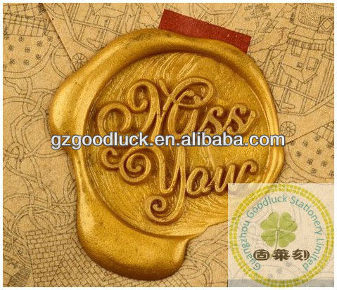 Christmas Self Adhesive Wax Seals, Custom company&personal logo wax stamper