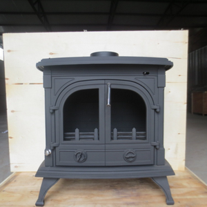 Antique decorative cast iron wood burning stove for sale