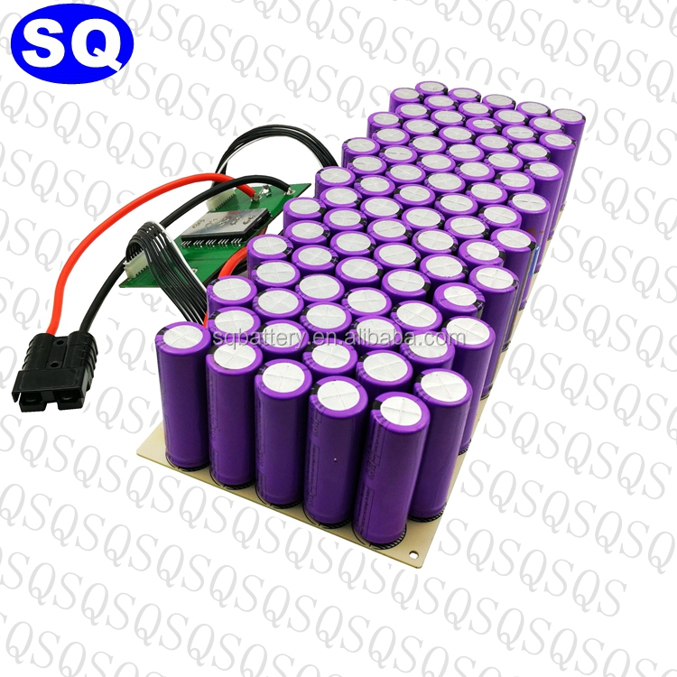 48V LTO fast charging battery pack 18650 for electric bike